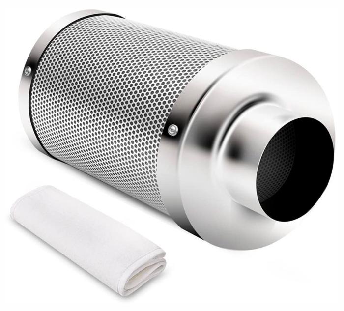 ნახშირის ფილტრი / სკუბერი (ჰაერიდან სუნის გაქრობა)